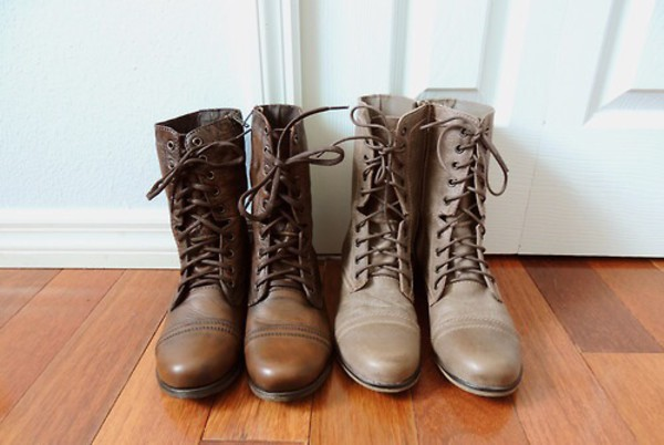 shoes combat boots boots brown boots winter boots cute boots girly