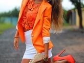 top,orange,sexy