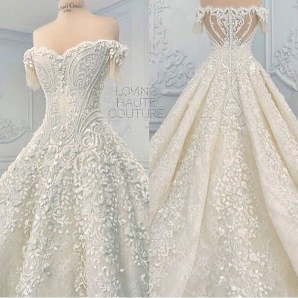 wedding dress, dress wedding, wedding dress sparkle, fashion ...