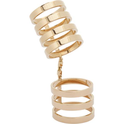 Band berbère cage ring at barneys.com
