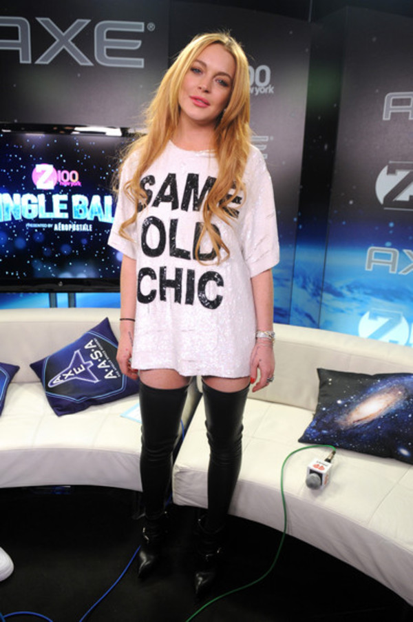 t-shirt lindsay lohan
