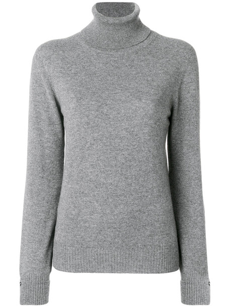 Agnona jumper cashmere jumper women grey sweater