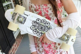 penny board longboard skateboard skater pants dress summer sports jewels hipster dress and cardigan home accessory