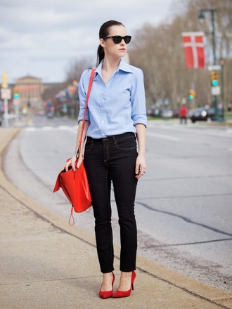 bittersweet colours shirt jeans shoes bag sunglasses