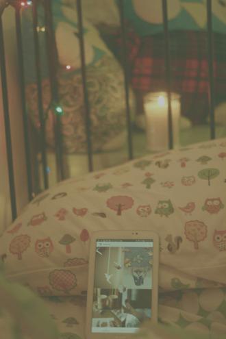pajamas bedding owl tree