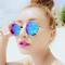 Designer inspired round sunglasses