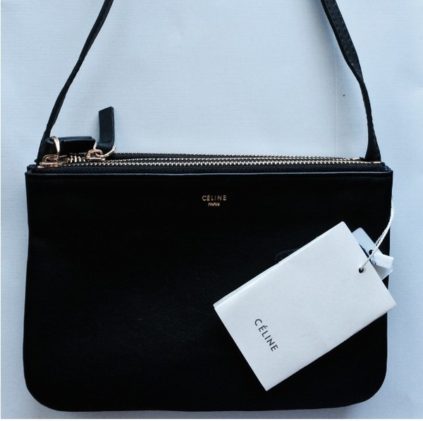 bag celine purse black