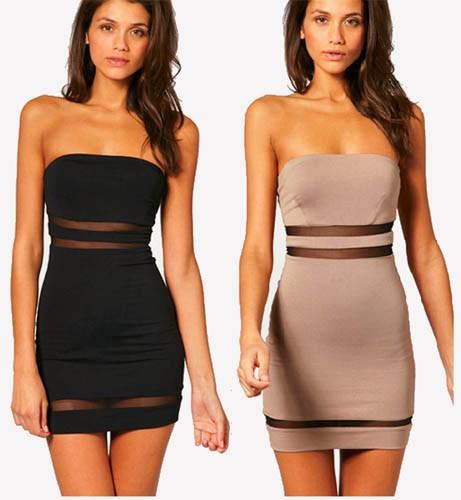 Nouvelle mode des femmes sexy 2013 absolue découpage poitrine fit serrées. d0077 mini robe dans  de  sur Aliexpress.com