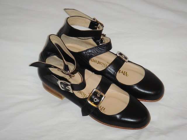 New black leather Vivienne Westwood Roman Shoes UK5 | eBay
