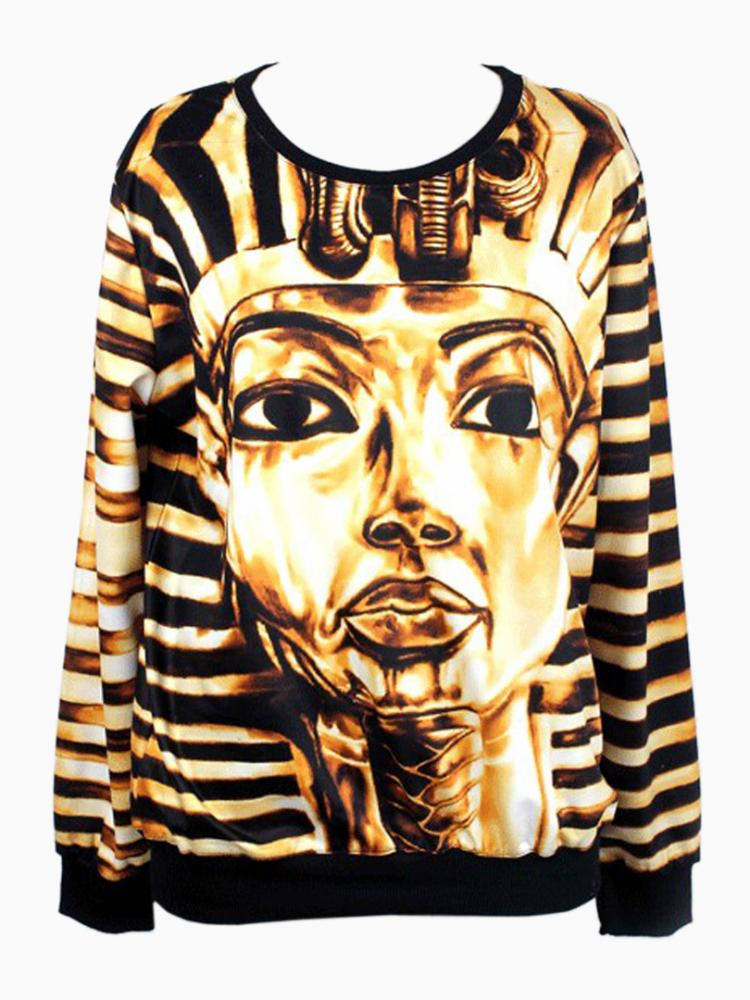 The Mummy Print Sweatshirt | Choies