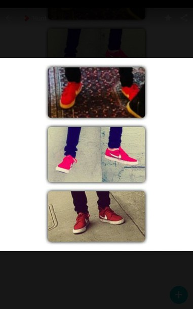 shoes red sneakers nike shoes