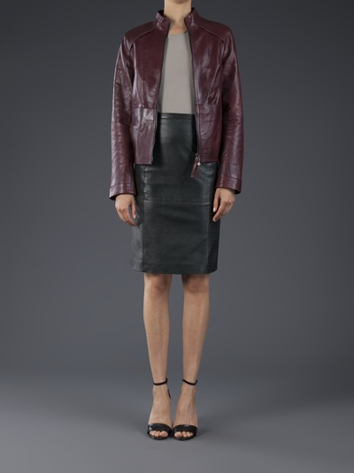 Beryll Leather Jacket - Elizabeth Charles - Farfetch.com