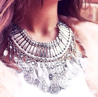 jewels necklace jewel bohemian