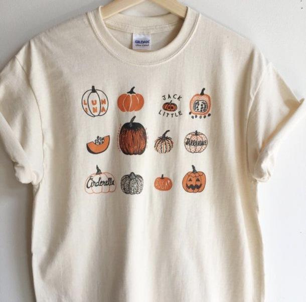 20edf4a5 t-shirt, t-shirt, shirt, halloween, goth, edgy, grunge, pumpkin ...