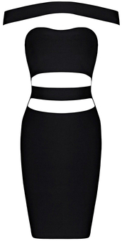 dress,dream it wear it,clothes,black,black dress,little black dress,bardot,bardot dress,bardot dresses,off the shoulder,off the shoulder dress,cut-out,cut-out dress,cut-out dresses,bodycon,bodycon dress,bandage,bandage dress,sexy,sexy dress,free shipping,party,party dress,cocktail,cocktail dress,elegant,elegant dress,classy,classy dress,summer outfits,girly,romantic summer dress,pool party