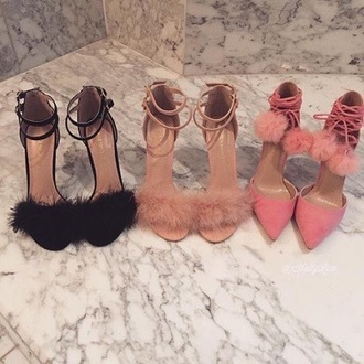 shoes lace up heels high heels pink black