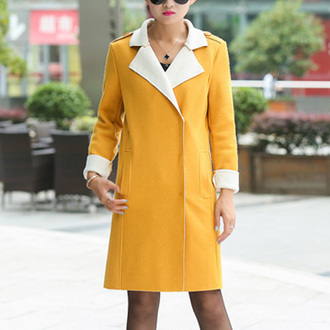 top classy popular fashion preppy noble and elegant beauty girl women cool clothes coat woolen coat long coat beautiful jumpsuit cute winter coat warm coats new coat