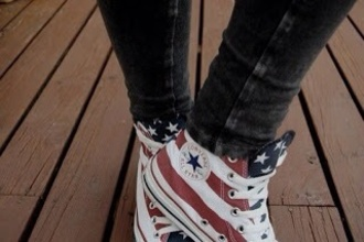 shoes flag american flag high top converse converse