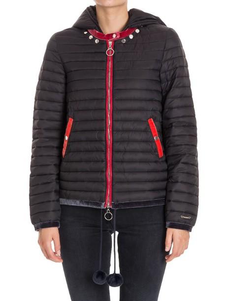 Twin-Set jacket down jacket black