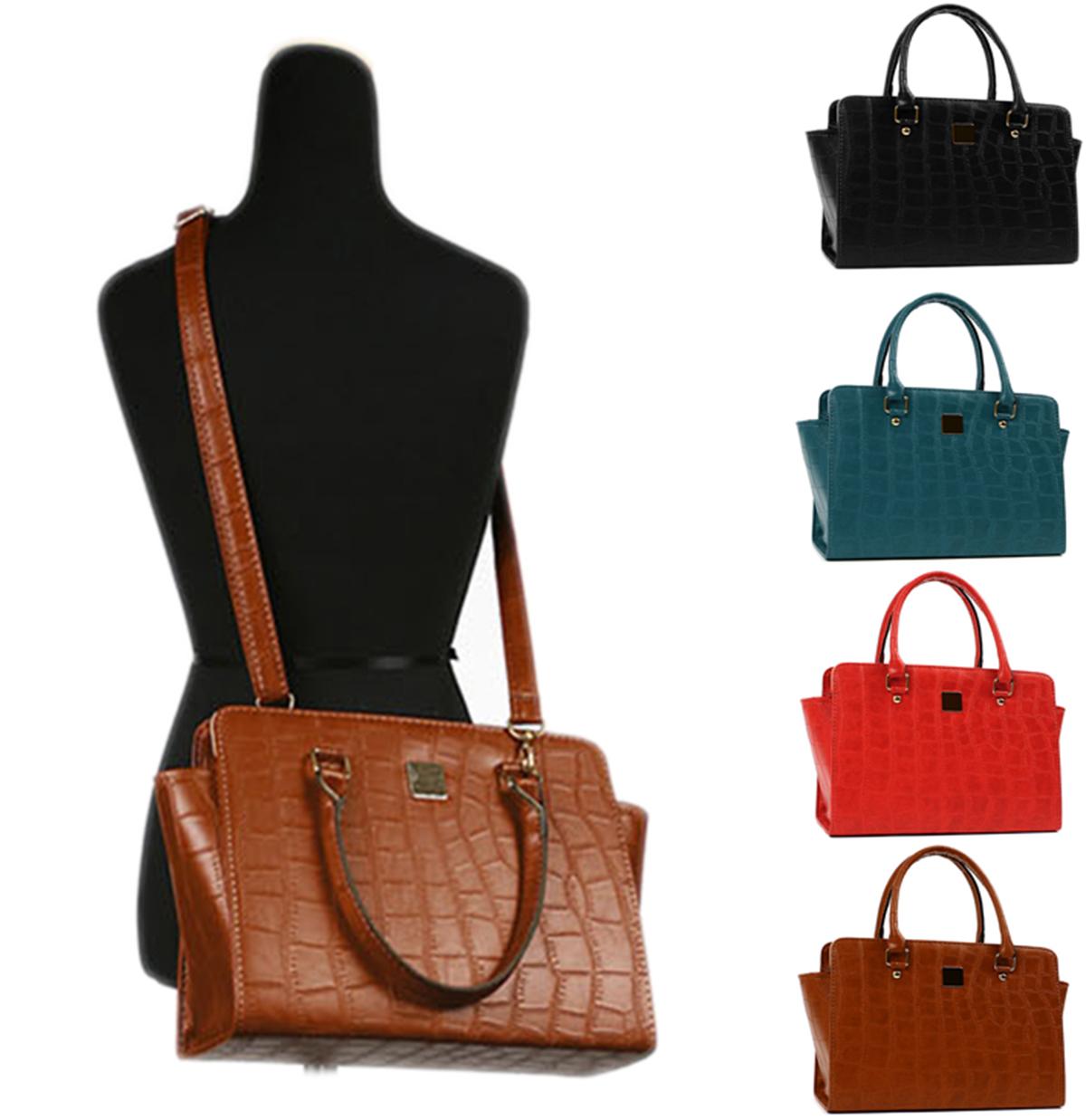 Brend New Womans Basic Shoulder or Tote Bag Snake Skin Type Neutral Style Bag | eBay