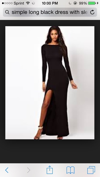 dress black dress black maxi dress blavk