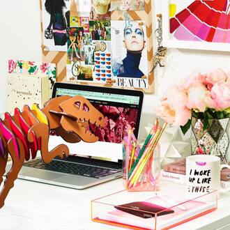 home accessory coach science dinosaur colorful desk home decor mug t rex technology gift ideas
