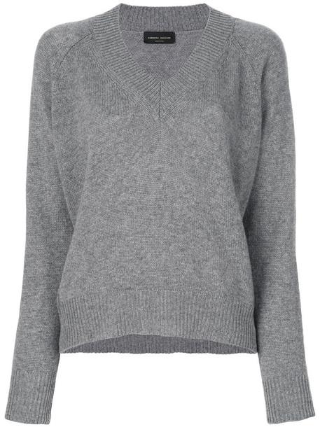 Roberto Collina jumper women grey sweater