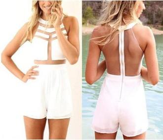 shorts romper summer classy