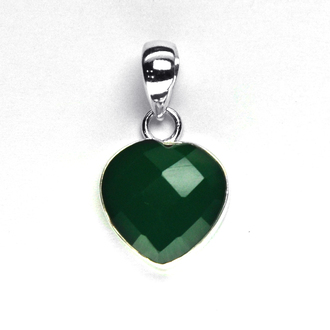 jewels heart heart pendent gift for your valentine gift for girlfriend gemstone pendant