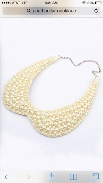 jewels peal necklace