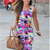 2014 New Hot sale plus size xs-xl women's fashion casual bodycon printed vest pencil Knee-Length sleeveless dress free shipping | Amazing Shoes UK
