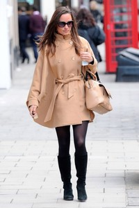 Alice temperley london pippa middleton somerset camel cape coat