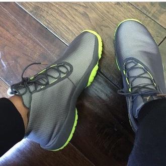shoes jordans grey sneakers