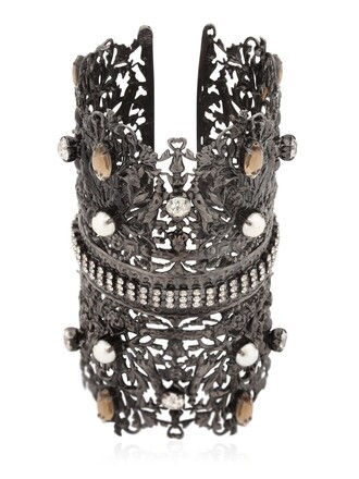 cuff cuff bracelet black jewels