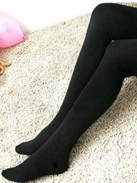 Black Basic Tights | Choies