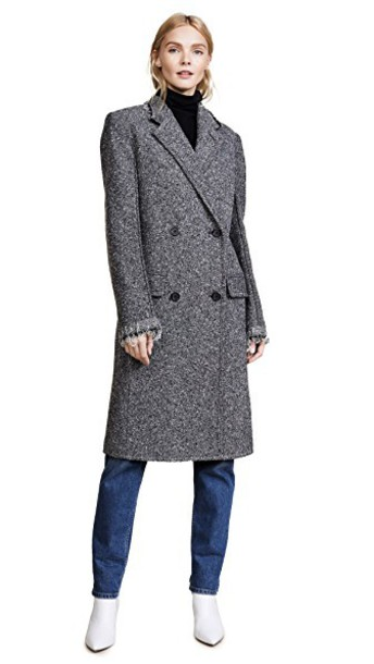 Helmut Lang overcoat grey coat