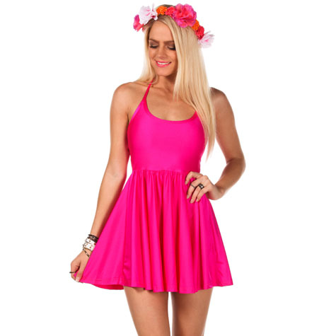 Mooloola flume skater dress