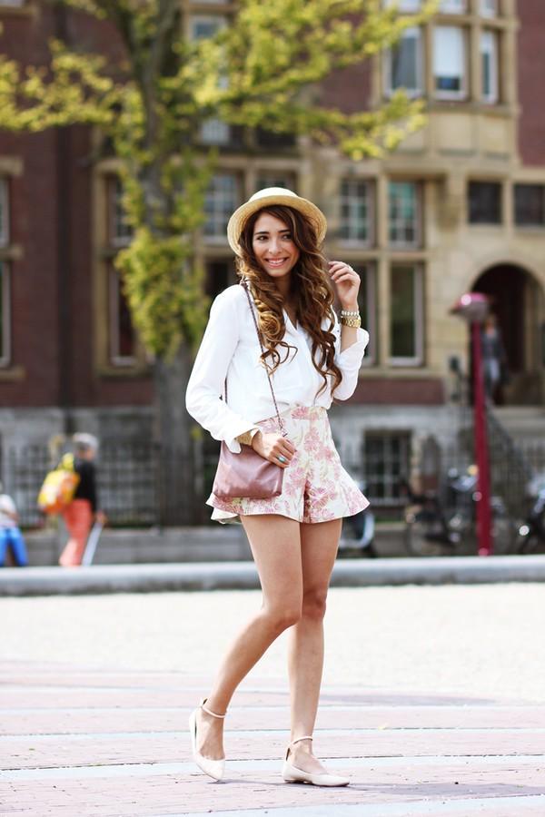 preppy fashionist blouse shoes bag jewels