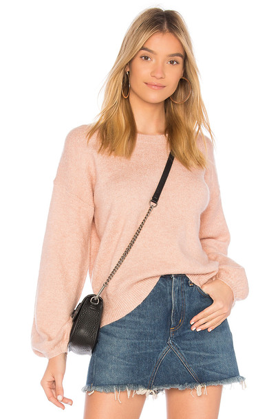 jumper blush sweater