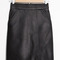 & other stories | leather mini skirt | black