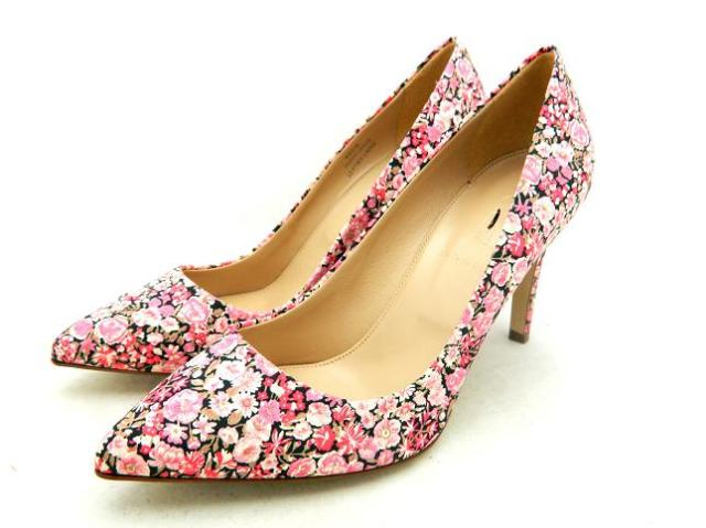 J crew everly liberty art fabric pumps shoes shoes 275 9 5 floral j crew everly liberty art fabric pumps shoes shoes 275 9 5 floral pink flower ebay mightylinksfo