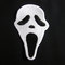 Scream movie face style iron on patch