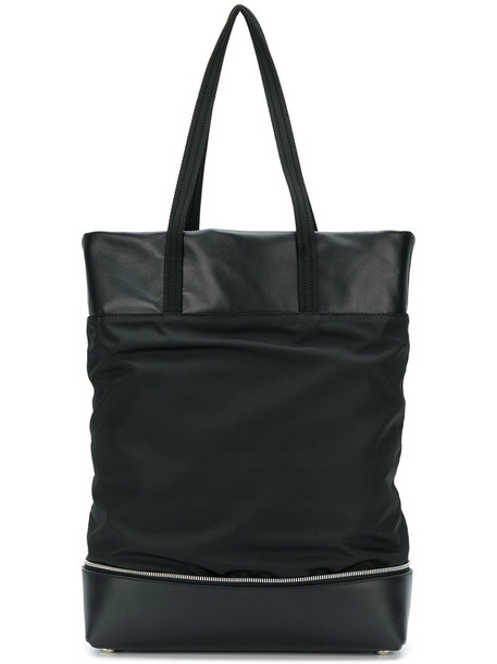 Robert Clergerie - Lola tote - women - Leather/viscose - One Size, Black, Leather/viscose