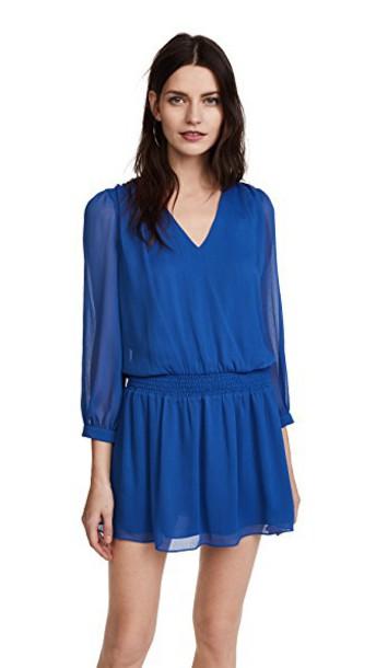 alice + olivia dress blue