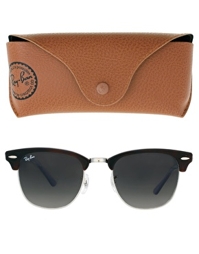 ray ban havana on violet new clubmaster sunglasses  ray ban