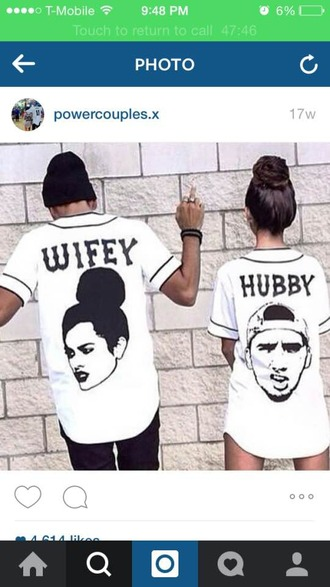 jacket jersey dope streetwear streetstyle couples shirts couple hubby wifey mens t-shirt