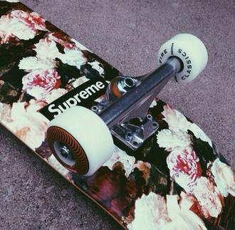 jewels skateboard supreme supreme skateboard floral