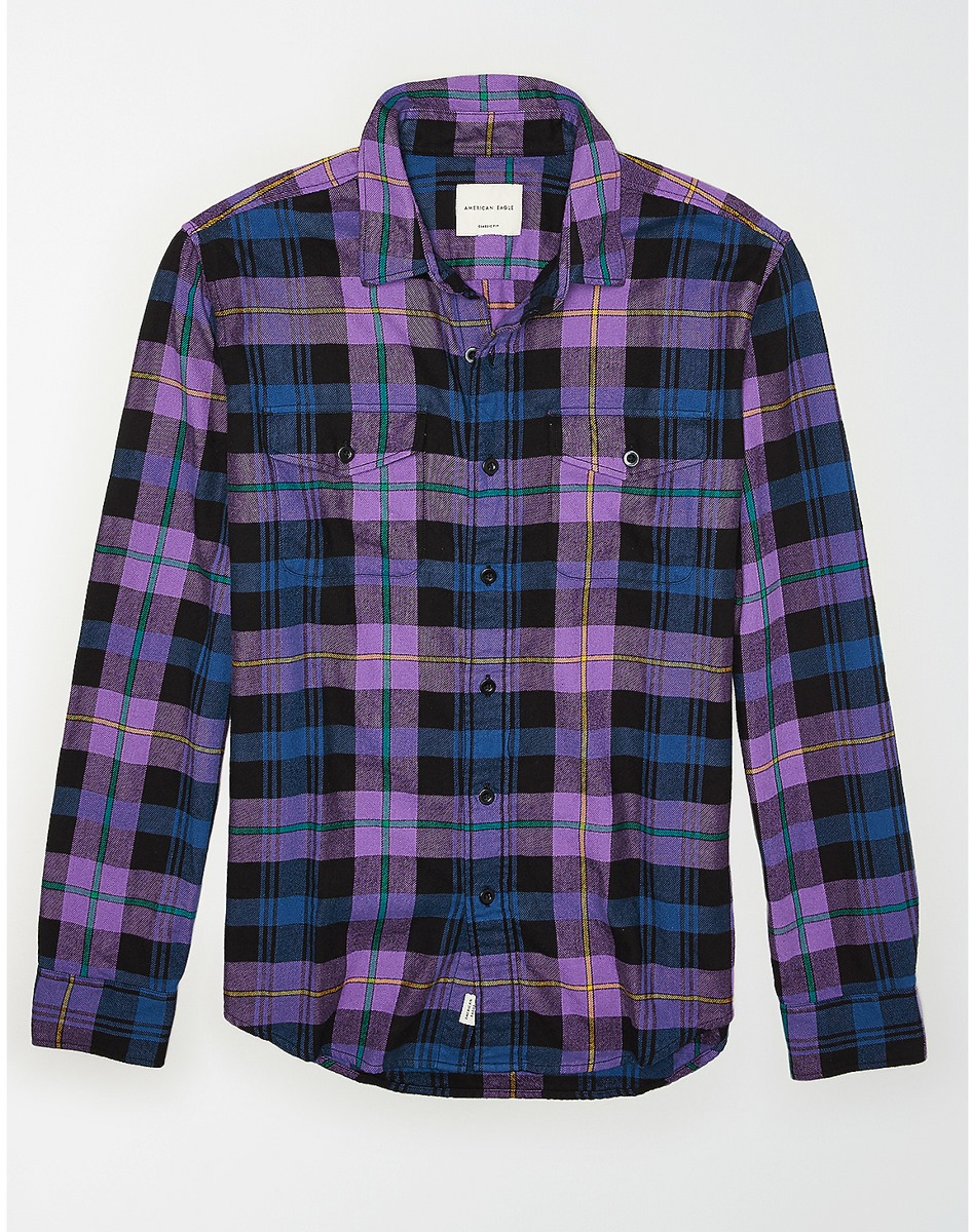AEO Seriously Soft Flannel Shirt