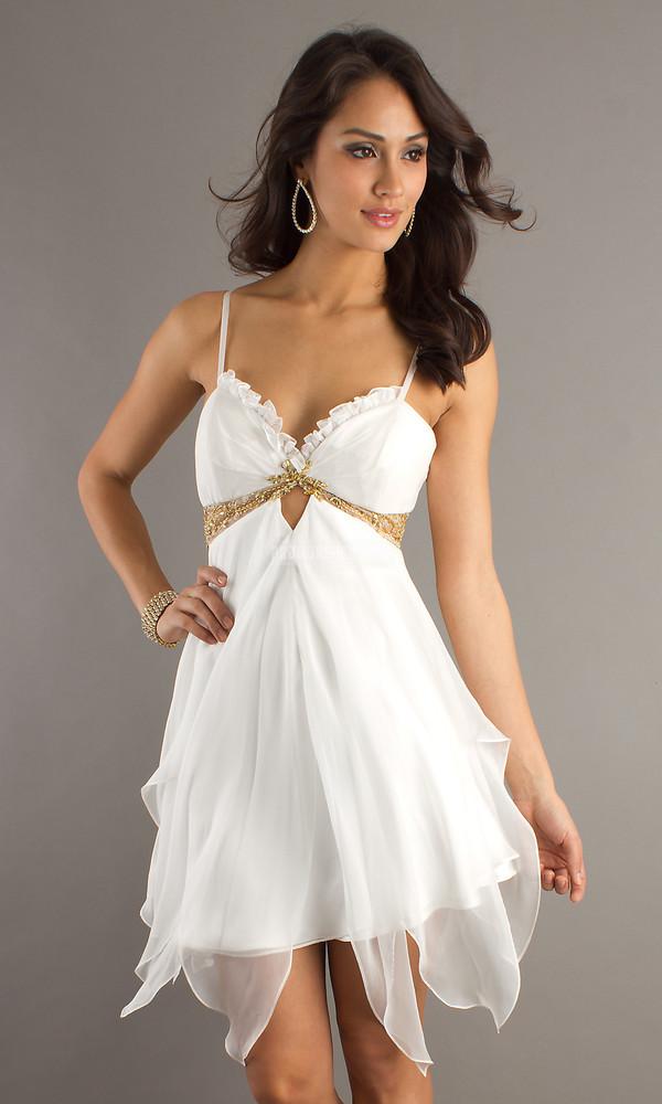 cocktail dress fashion dress cheap dress short dress white dress sexy girl