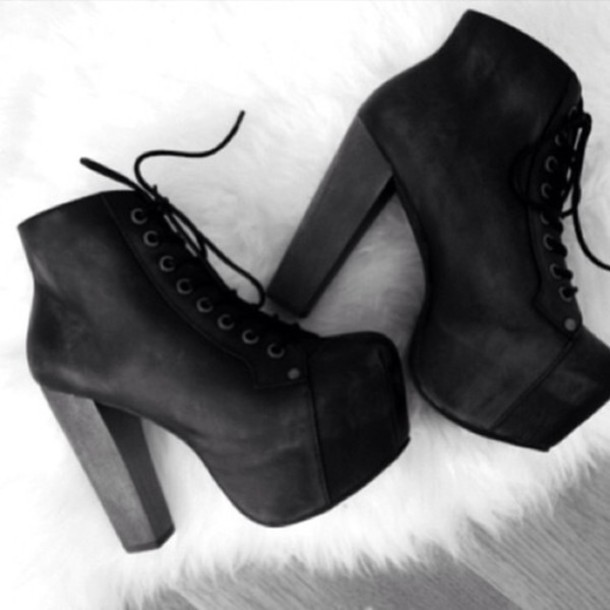 shoes boots black high heels ankle boots black celebrity style cute nice  outfit heels tumblr shoes d4e3b34e5087